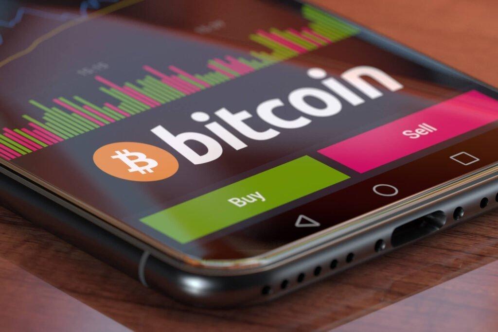 Binance crypto trading smartphone
