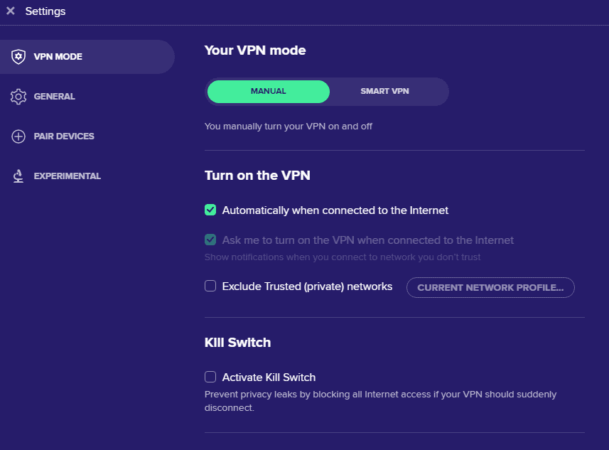 Avast antivirus interface 8