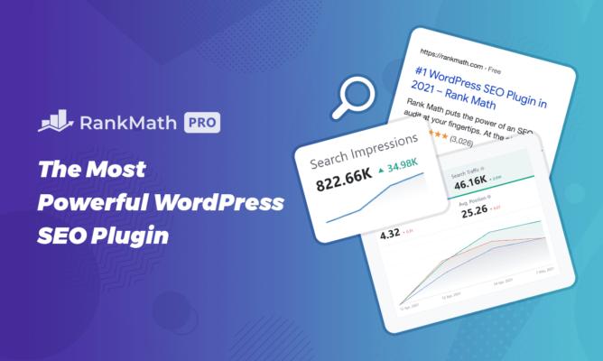 Rank Math Pro: the Ultimate WordPress Plugin for SEO